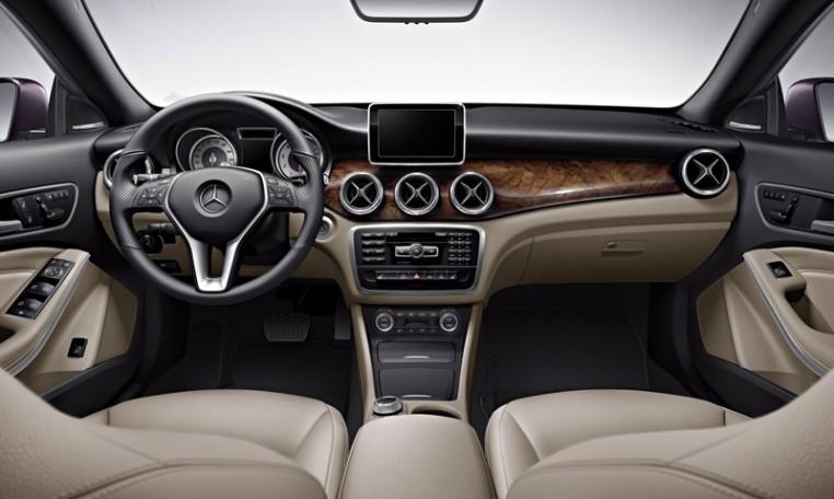 Mercedes Benz C-Class inside